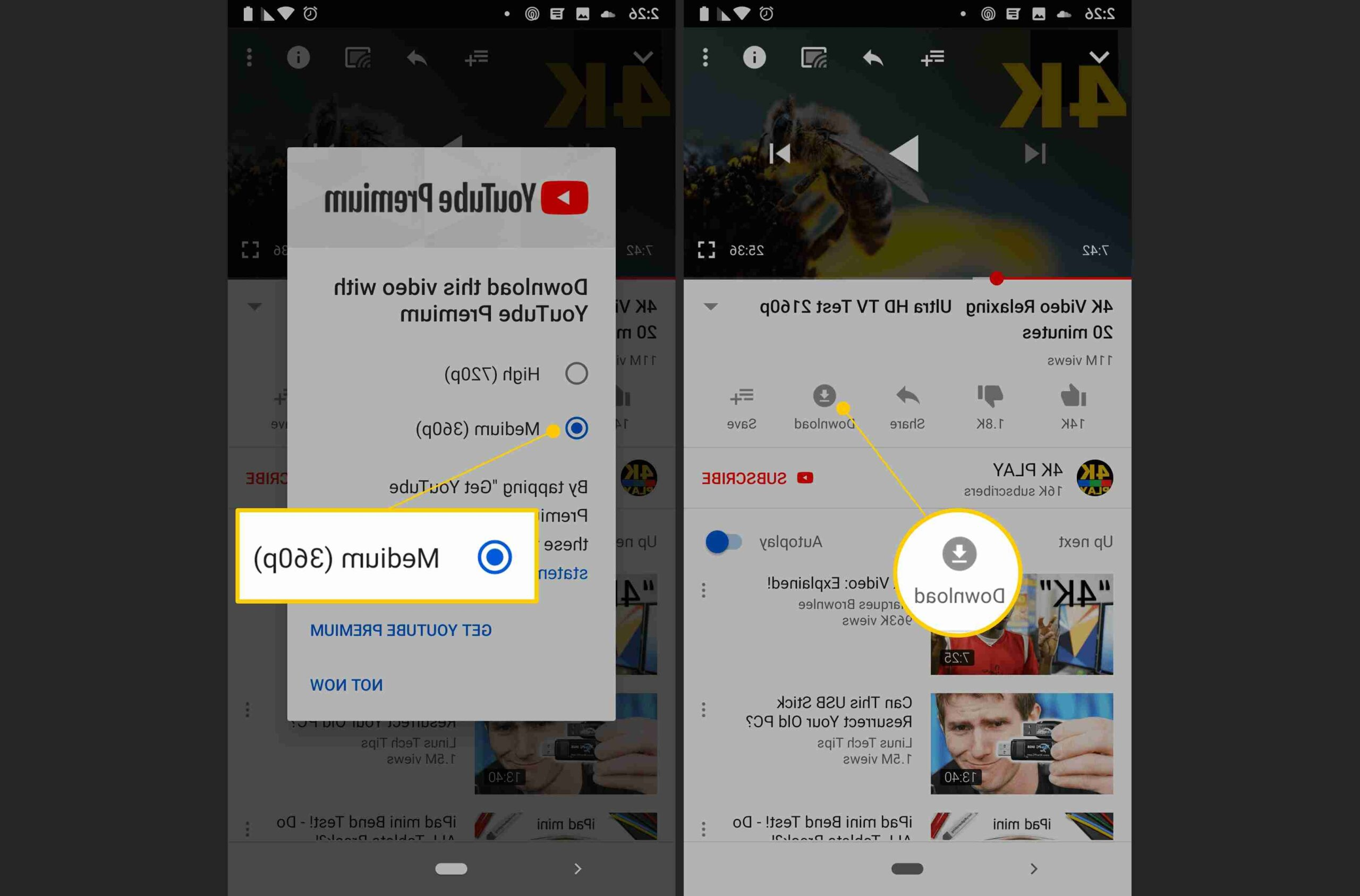 Comment installer YouTube sur Android Auto ?