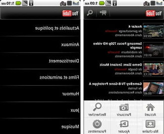 Quelle est l'application YouTube ?